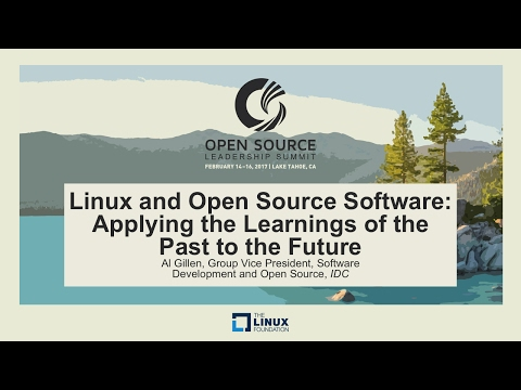 Keynote: Linux and Open Source Software: Applying the Learni
