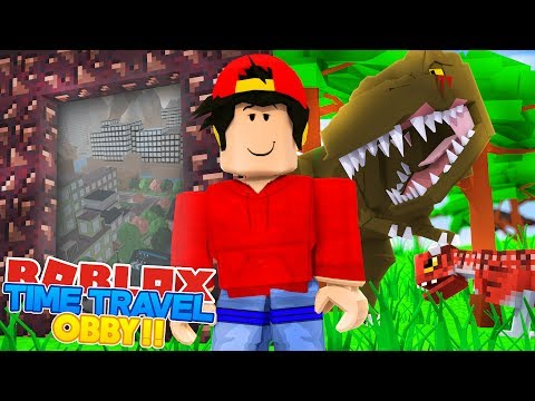 ROBLOX Adventure - THE TIME TRAVEL OBBY!!