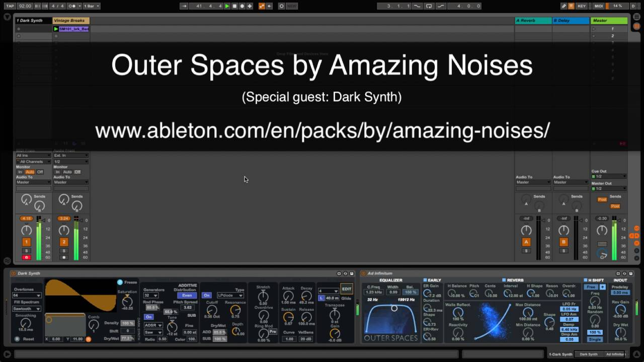 Outer Spaces | Ableton