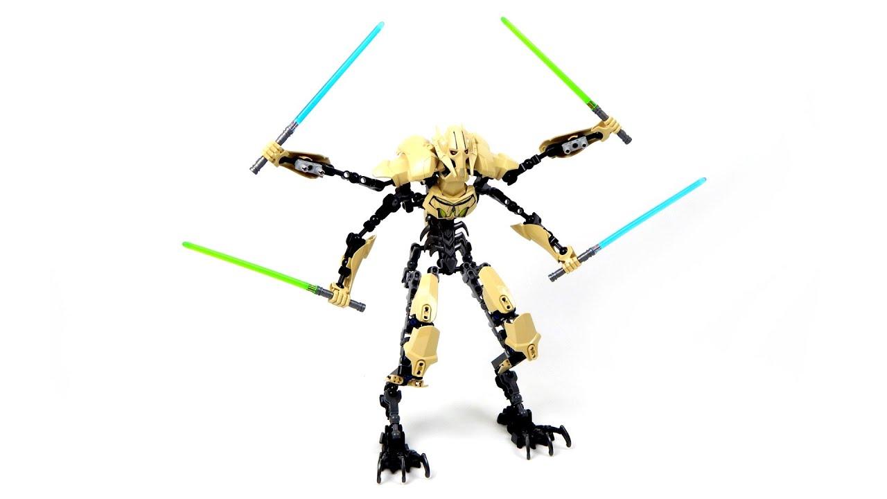 Lego Star Wars 75112 General Grievous Lego Speed Build  YouTube