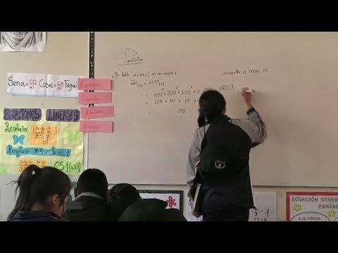 Young students in Peru face challenges with education system