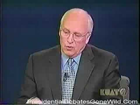 2000 Vice Presidential Debate Cheney's Iraq Foreshadow