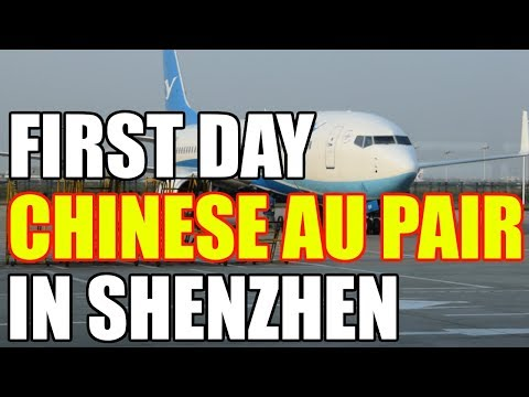 FIRST DAY AS CHINESE AU PAIR IN SHENZHEN [China Au Pair Vlog #36]