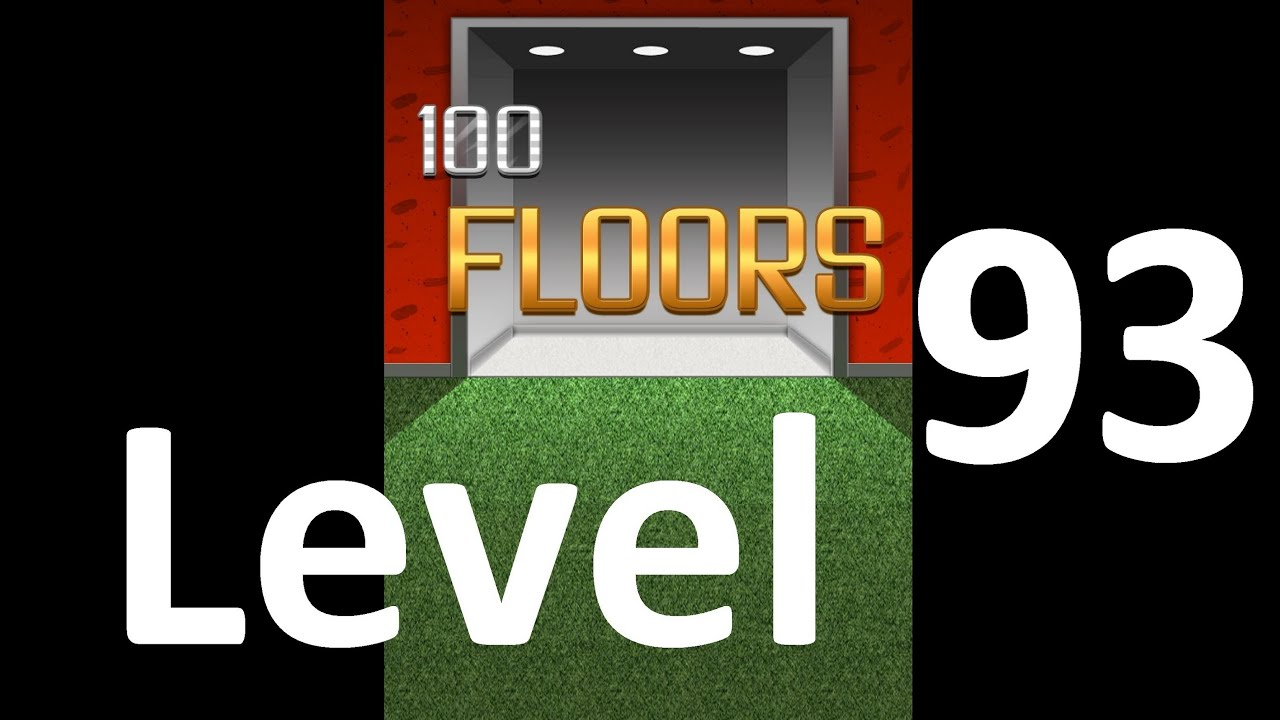 100 Floors Level 93 Floor 93 Solution Walkthrough Youtube