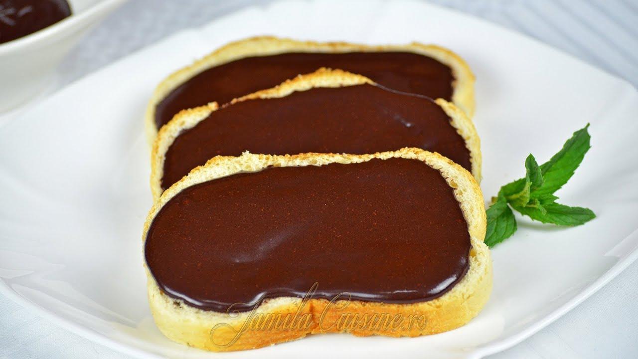 Crema de ciocolata nutella jamilacuisine youtube for Ciocolata de casa reteta clasica
