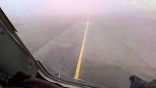 посадка АН 24 в СМУ