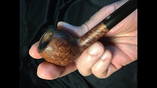 Ep 17 Cleaning an estate pipe without removing the stain - Parker project