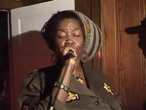 Sister Carol - Shank I Sheck riddum LIVE @ Brigadier's Record Release (Al Paragus HQ)