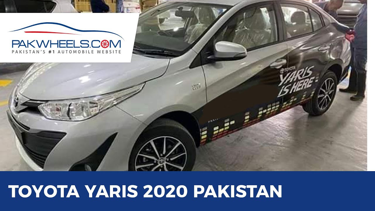 Toyota Yaris 2020 Pakistan Launch Price Specs Features Pakwheels Youtube