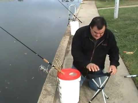 Bucket Rod Holder Youtube