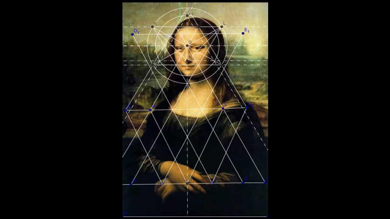 Gioconda mona lisa leonardo da vinci geometr a sagrada for La gioconda di leonardo da vinci