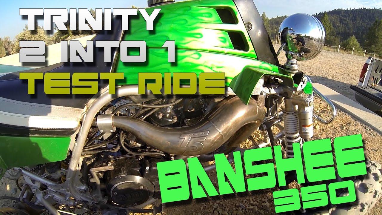 Yamaha Banshee 2 into 1 Carb Kit - Test Flight #1 35mm Keihin with Trinity