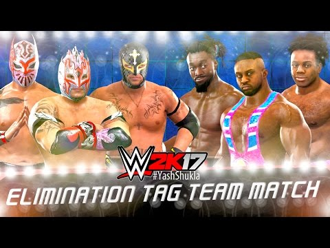 WWE 2K17 The New Day vs The Lucha Dragons (feat. Rey Mysterio) | 6 MAN ELIMINATION TAG TEAM Match