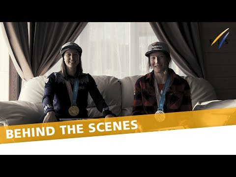 Olympic gold and silver medallists face to face | FIS Freestyle