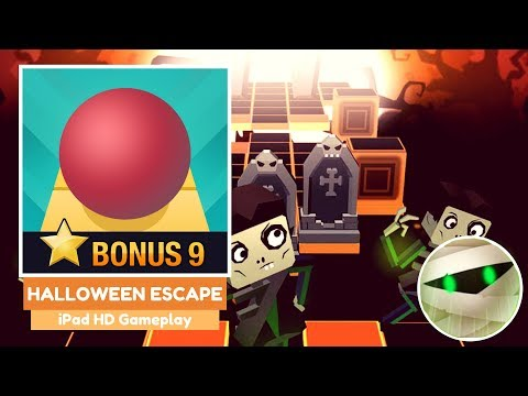 Rolling Sky - Halloween Escape (HD Gameplay)