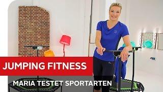 Jumping Fitness: Effektives Training auf dem Trampolin – Maria testet Trendsportarten – OTTO