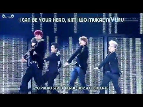 Super Junior - Hero Live (Sub Español + Karaoke)