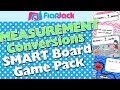 Measurement Units and Conversions SMART Board Promethean Game Pack