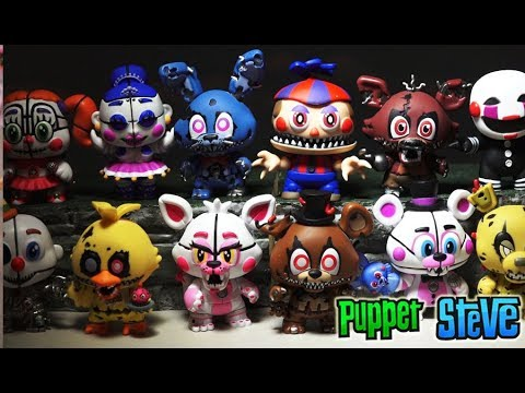 Five Nights at Freddy's FNAF Mystery Minis Series 2 FUNKO Vinyl Figures Case Unboxing Review