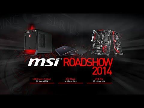 MSI Gaming Roadshow 2014 - UHK Hradec Králové, ZČU Plzeň, UTB Zlín [Oficiální reportáž]