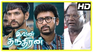 Ivan Thanthiran Movie Scenes | Super Subbarayan tries to win the case | Gautham | RJ Balaji
