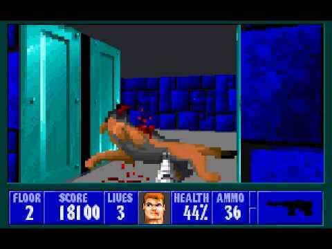Wolfenstein 3D game at DOSGames com