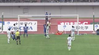 2017年6月10日(土)に行われた明治安田生命J2リーグ 第18節 徳島vs湘...