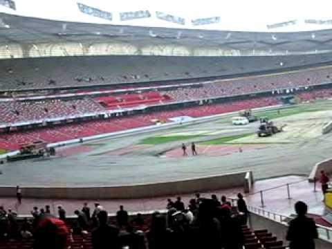 Inside the China National Stadium.Mp4