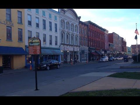 OWEGO, NY - charming seat of Tioga County on the Susquehanna River