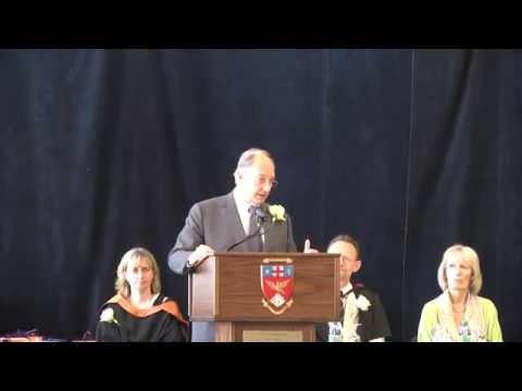 HH the Aga Khan delivers Aiglon Graduation Speech 2014