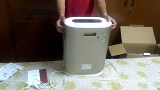 Honeywell I8 Air purifier unboxing HINDI