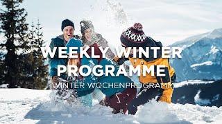 Weekly Winter Programme in Zell am See-Kaprun ❄