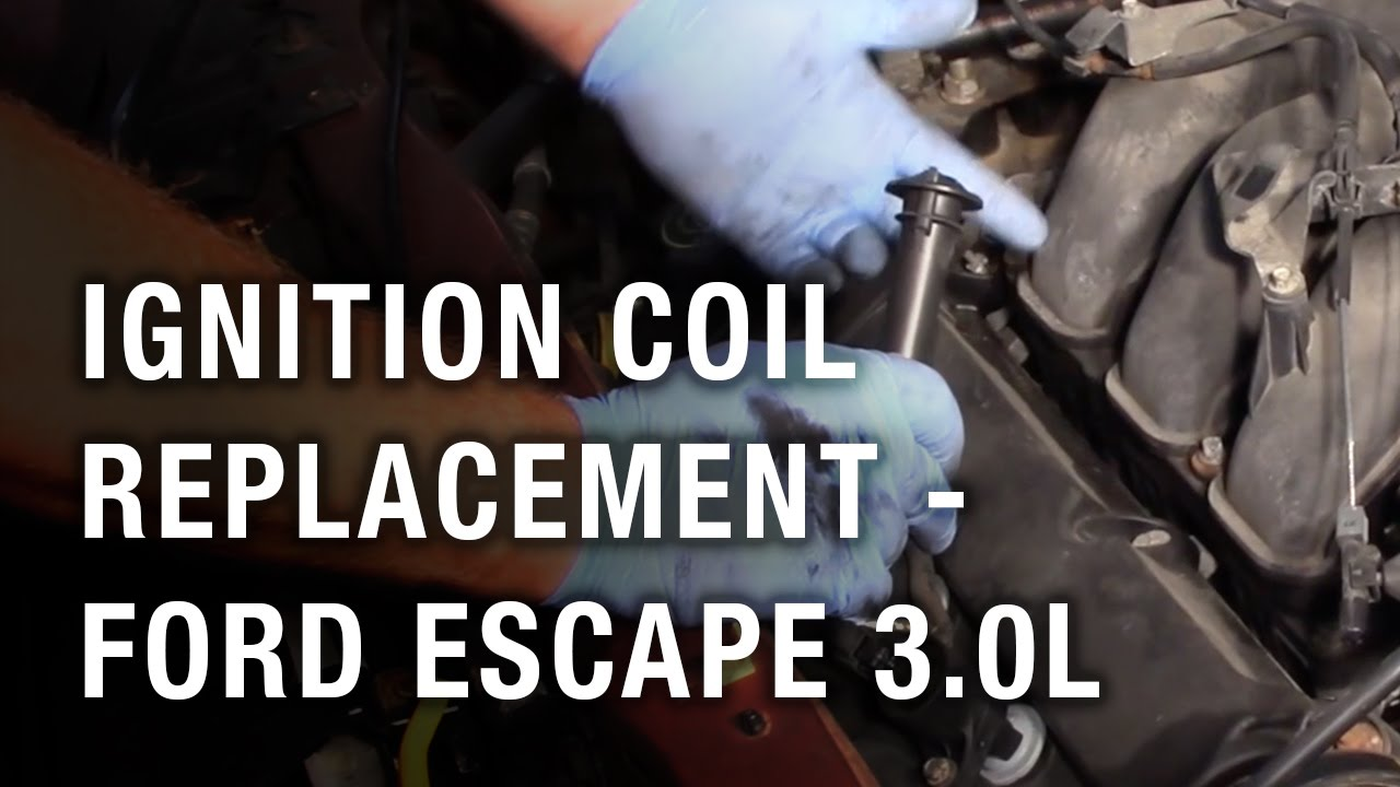Ignition Coil Replacement Ford Escape 30l Youtube 2001 V6 Engine Diagram
