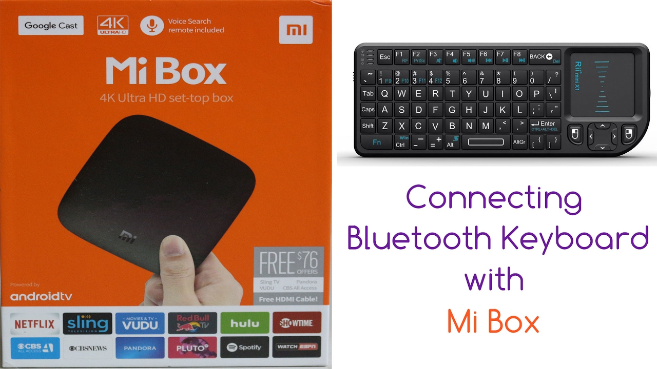 Connecting Bluetooth Keyboard With Mi Box Youtube