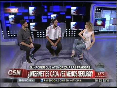 C5N - TECNOLOGIA: EL HACKER QUE ATEMORIZA A LAS FAMOSAS