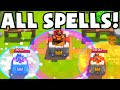 Clash Royale ALL SPELLS DECK (World's Worst Deck Ever) | Funny Troll Cards Strategy Gameplay