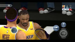 Xiaomi Redmi 5plus Los Angeles Lakers vs Portland Trail Blazers Game test!