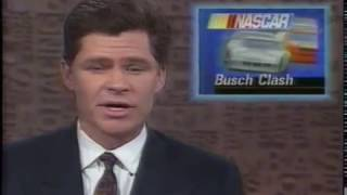 SportsCenter 1990 Busch Clash, Mike Staley ARCA crash