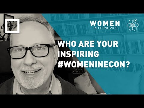 Alex Tabarrok: Who are your inspiring #WomenInEcon? - YouTube