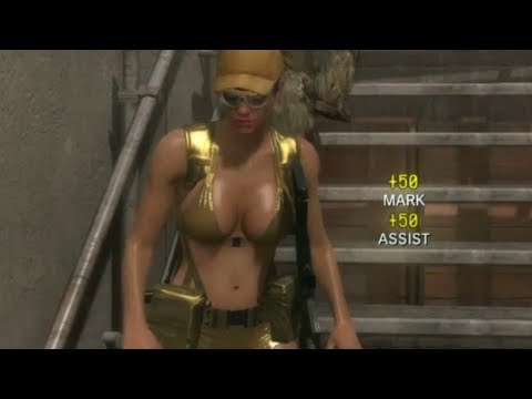 Metal Gear Solid V: The Phantom Pain MGO Gold Bikini Scout Matches