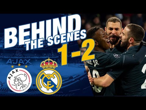 Ajax 1-2 Real Madrid | Behind The Scenes EXCLUSIVE