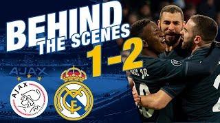 Ajax 1-2 Real Madrid | Behind The Scenes EXCLUSIVE