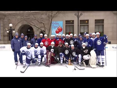 Maple Leafs Practice: Outdoor Skate - December 13, 2017