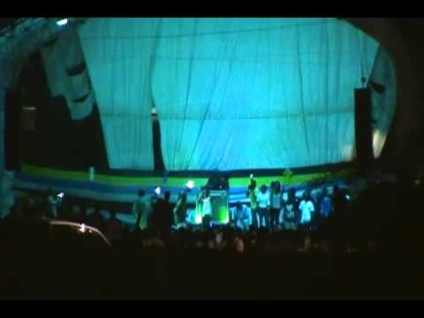 Tommy Lee Stage Show Antigua Oct 31st 2012 - Part 1 - Elemental TV Production