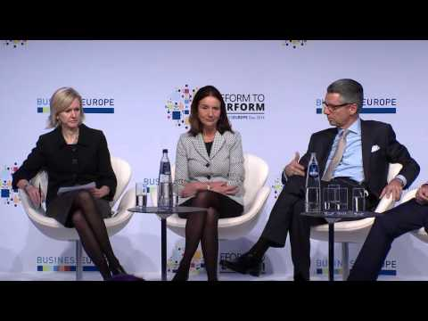 BusinessEurope Day 2016 - Reform to perform - Panel debate: Global Outlook
