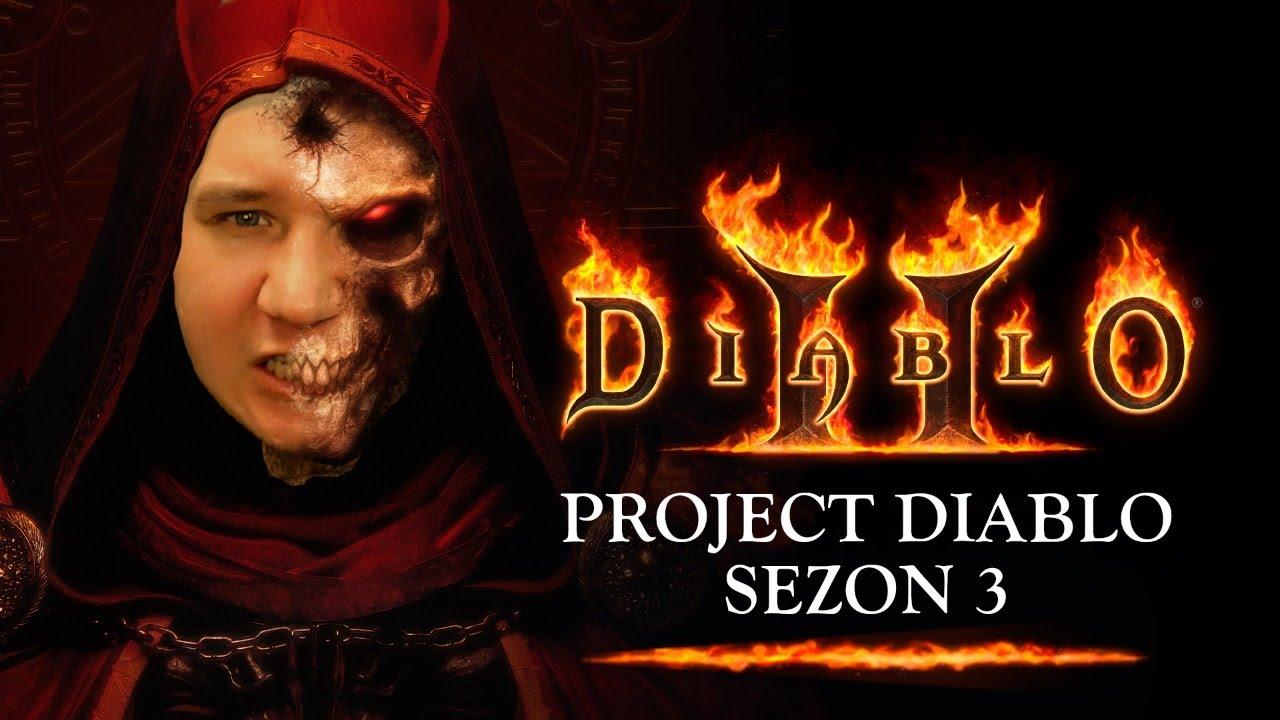 Nowy sezon :) - Project diablo 2  I 🔴Na żywo