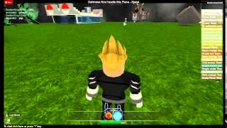 KAMEHAMEHA! Roblox Mob Arena Battle Special #1 Me with R-Orb VS Deven with R-Orb