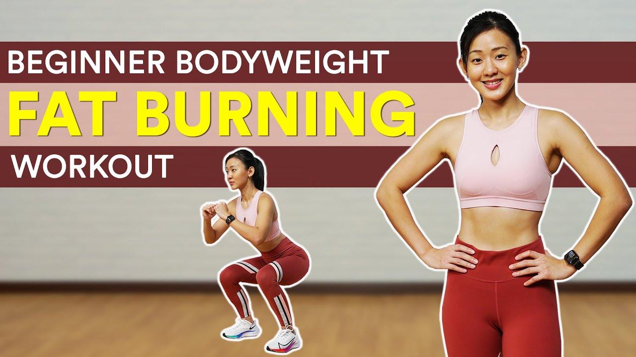 30-Min Beginner Bodyweight Fat Burning Workout (🔥Burn 300 Calories!) | Joanna Soh