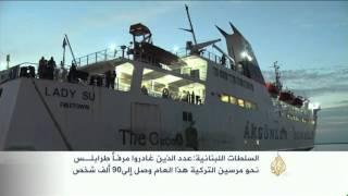 إقبال من السوريين على الرحلات البحرية بين لبنان وتركيا للوصل إلى أوروبا