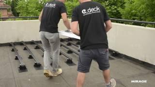 Keramische tegels verwerken met E_deck